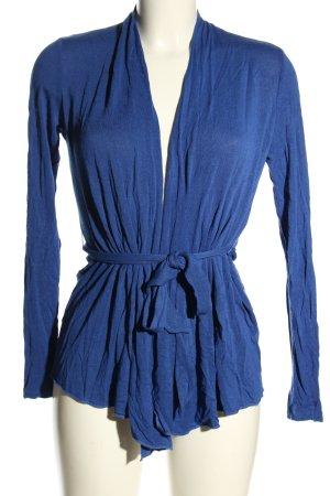 Esprit Strickwickeljacke blau Casual-Look