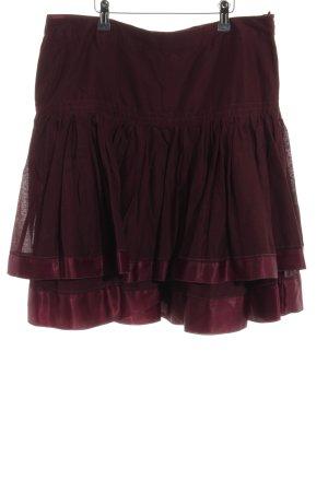 Esprit Broomstick Skirt red elegant