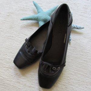 Esprit * Süße Ballerinas Loafer * dunkelbraun * 41 NEU