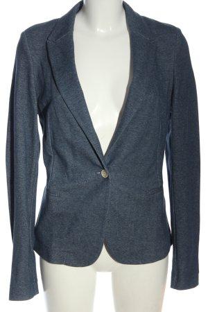 Esprit Sweatblazer blau meliert Business-Look