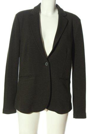 Esprit Blazer de tela de sudadera negro moteado estilo «business»