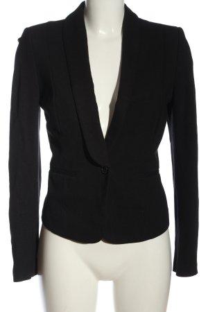 Esprit Blazer de tela de sudadera negro estilo «business»