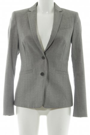 Esprit Sweatblazer hellgrau Business-Look