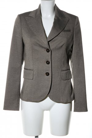 Esprit Sweatblazer hellbraun meliert Business-Look