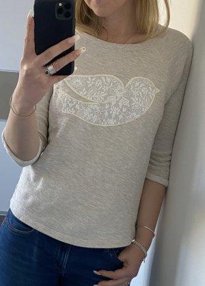 Esprit Sweater Casual mit Spitze beige
