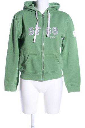 Esprit Sweatjacke grün Casual-Look