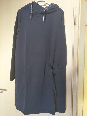 Edc Esprit Robe Sweat bleu foncé