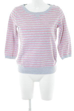 Esprit Sweatshirt hellgrau-pink meliert Casual-Look