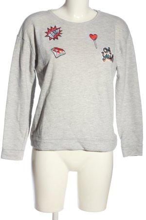 Esprit Sweatshirt hellgrau meliert Casual-Look
