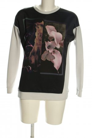 Esprit Sweatshirt Motivdruck Casual-Look
