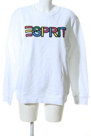 Esprit Sweatshirt Schriftzug gedruckt Casual-Look