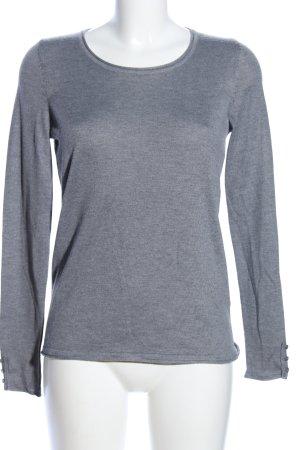Esprit Sweatshirt hellgrau meliert Business-Look