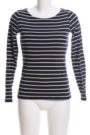 Esprit Sweatshirt schwarz-weiß Allover-Druck Casual-Look