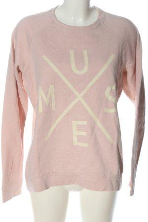 Esprit Sweatshirt pink-creme meliert Casual-Look