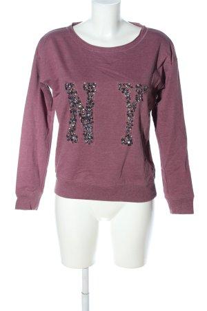 Esprit Sweatshirt pink meliert Casual-Look