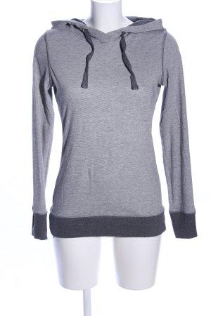 Esprit Sweatshirt hellgrau-schwarz meliert Casual-Look
