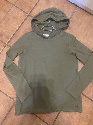 Esprit Koszulka z kapturem khaki