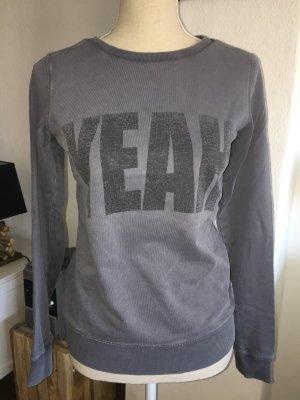 Esprit Sweatshirt Pullover grau Sweater YEAH Gr. XS 34