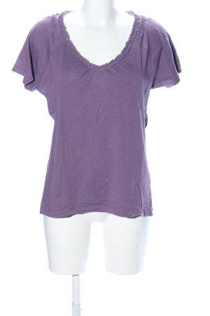 Esprit T-Shirt lila meliert Casual-Look