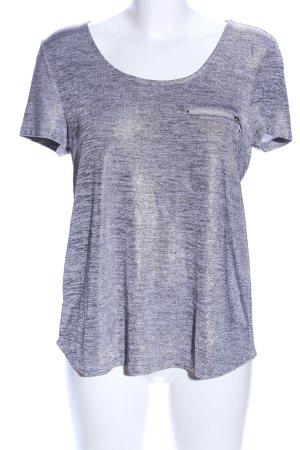 Esprit T-Shirt silberfarben meliert Casual-Look