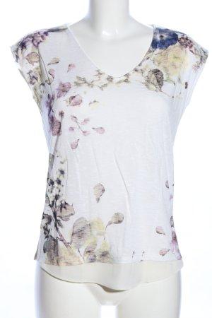 Esprit T-Shirt Blumenmuster Casual-Look
