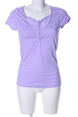 Esprit T-Shirt lila Casual-Look