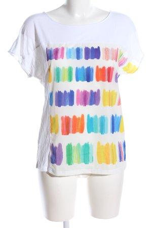 Esprit T-Shirt abstraktes Muster Casual-Look