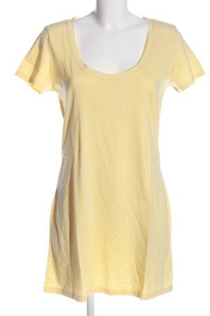 Esprit Shirtkleid blassgelb Casual-Look