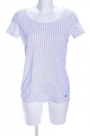 Esprit T-Shirt weiß Allover-Druck Casual-Look