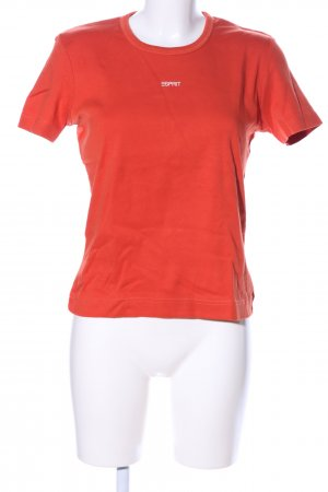 Esprit T-Shirt rot Casual-Look