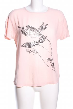 Esprit T-Shirt pink Motivdruck Casual-Look