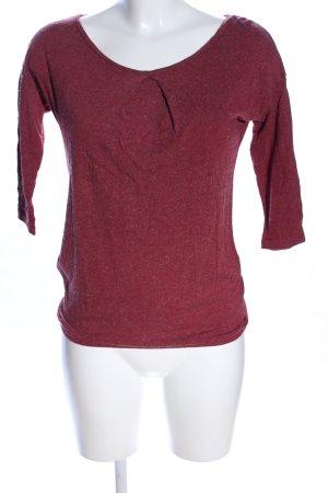 Esprit T-Shirt rot meliert Casual-Look