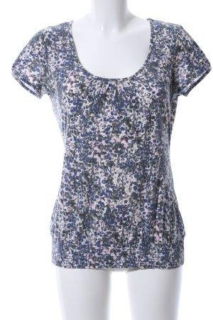 Esprit T-Shirt Allover-Druck Casual-Look