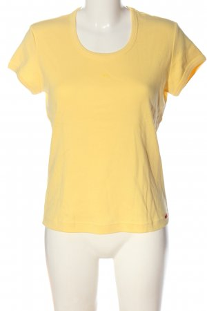 Esprit T-Shirt blassgelb Casual-Look