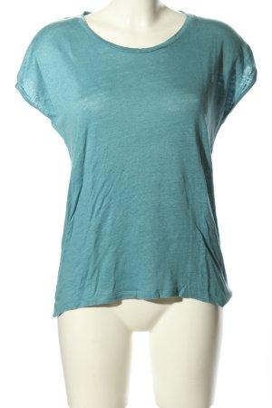 Esprit T-Shirt türkis meliert Casual-Look