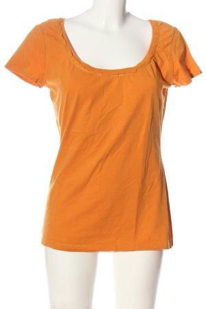 Esprit T-Shirt hellorange Casual-Look