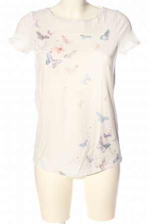 Esprit T-Shirt wollweiß Motivdruck Casual-Look