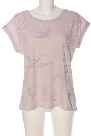 Esprit T-Shirt pink Motivdruck Casual-Look