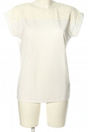 Esprit T-Shirt weiß-wollweiß Business-Look