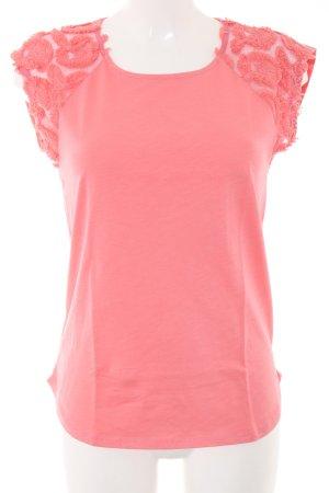 Esprit T-Shirt pink meliert Casual-Look