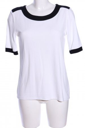 Esprit T-Shirt weiß-schwarz Casual-Look