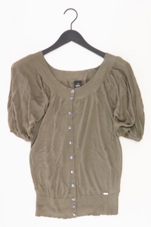 Esprit T-Shirt Größe 34 Kurzarm olivgrün aus Viskose