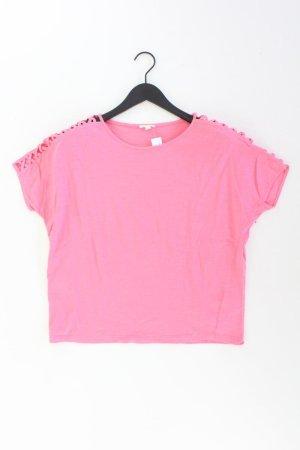 Esprit T-Shirt Größe L Kurzarm pink aus Baumwolle