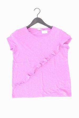 Esprit T-Shirt Größe M Kurzarm lila aus Viskose