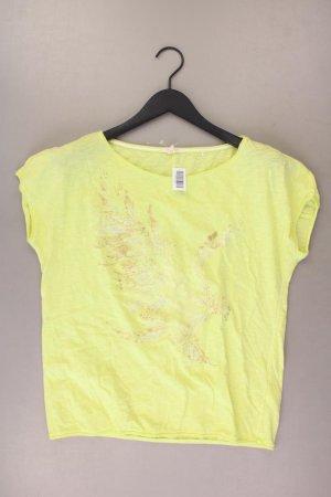 Esprit T-Shirt Größe S Kurzarm gelb aus Baumwolle