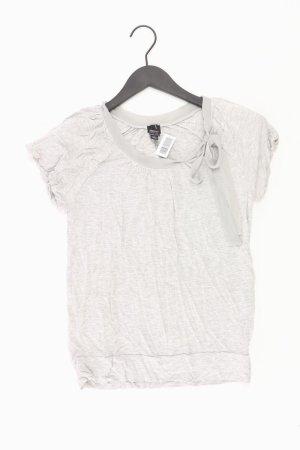 Esprit T-Shirt Größe S Kurzarm grau aus Viskose
