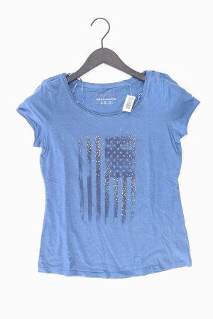 Esprit T-Shirt Größe XS Kurzarm blau