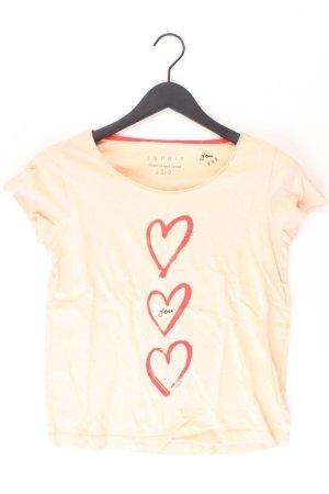 Esprit T-Shirt Größe XS Kurzarm orange aus Baumwolle