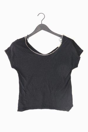 Esprit T-Shirt Größe XS Kurzarm schwarz aus Viskose