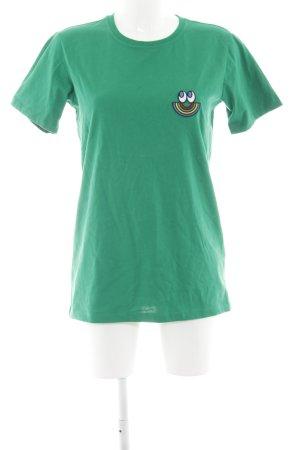Esprit T-shirt groen-blauw casual uitstraling